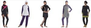 Islamic Women's Swimwear
