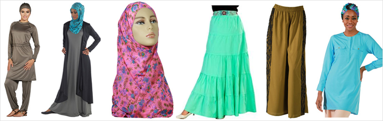 Islamic clothing for girls banner
