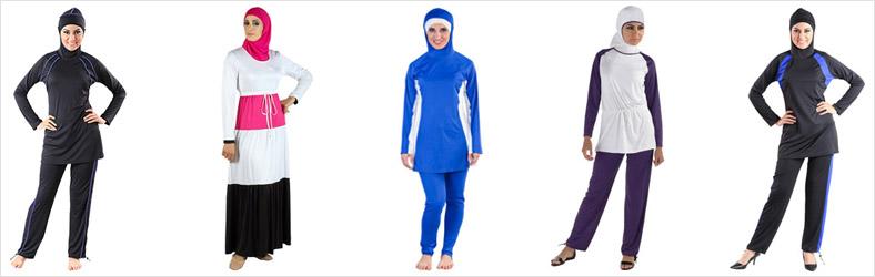 Women's Modest Swimwear