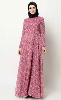 black zipper abayas