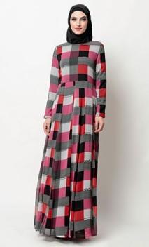 block print abayas